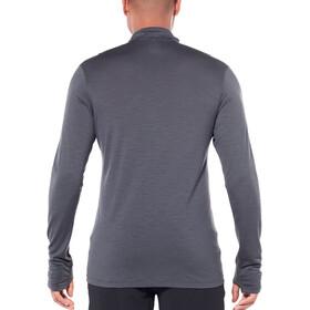 Icebreaker Zeal LS Half Zip Shirt Men monsoon